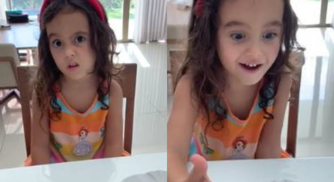 Bombou na web: em vídeo, mãe explica para garotinha como se proteger de coronavírus
