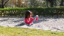 Mãe compartilha foto da filha e questiona: 'Cadê o resto dela?