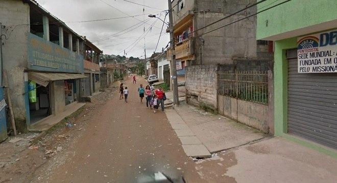 Vista da rua onde maus-tratos teriam acontecido, em Mauá, Grande São Paulo