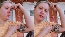 Mãe tatua desenho feito pelo filho, mas descobre que não era dele