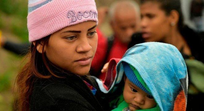 Estima-se que 20 mil recém-nascidos não tenham nacionalidade porque são filhos de venezuelanos nascidos na Colômbia