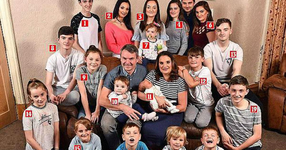 britain's biggest family