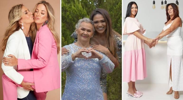 Famosos celebram Dia das Mães e prestam homenagem na web