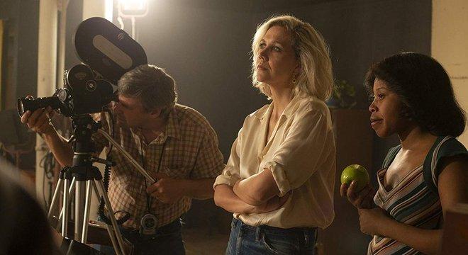 Maggie Gyllenhaal e Dominique Fishback em The Deuce (2017)