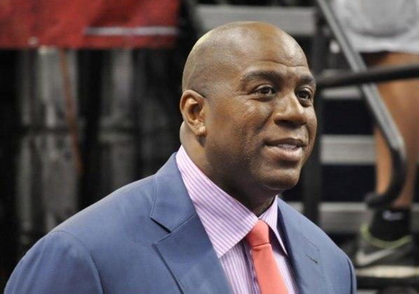 Magic Johnson, astro do basquete, também tem um negócio esportivo, mas no beisebol: ele comprou, em 2012, o Los Angeles Dodgers