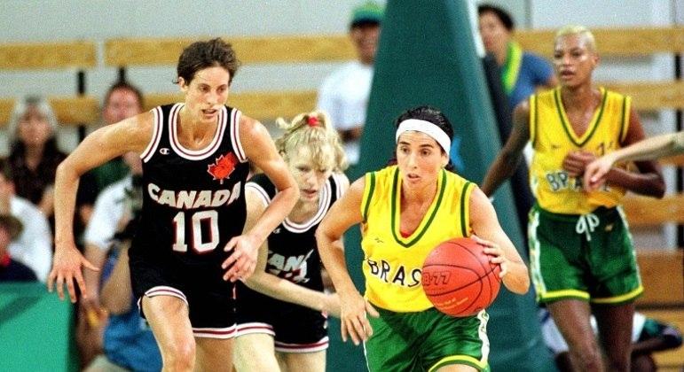 Em 1996, Paula defendeu Brasil nos Jogos Olímpicos de Atlanta