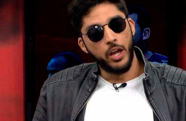 """Magno Navarro - Apresentador do """"Tá na Área"""", comediante e famoso por imitar diversas personalidades do esporte, ele é torcedor do Fluminense."""