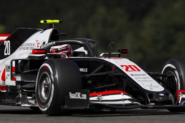 Magnussen foi o último colocado entre os pilotos que terminaram a corrida