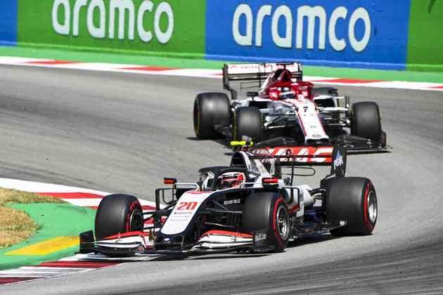 Magnussen, porém, viu o dia como positivo em Barcelona