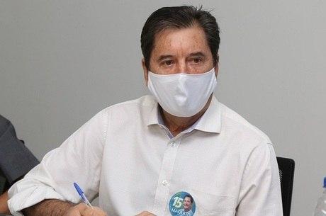 Na imagem, prefeito de Goiânia, Maguito Vilela (MDB)