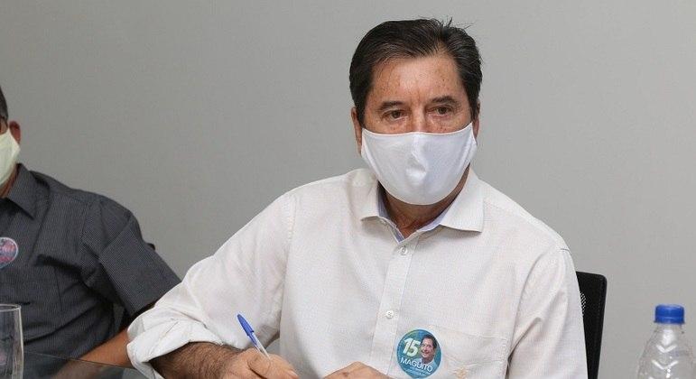 Internado em SP, Maguito Vilela inicia mandato como prefeito de Goiânia