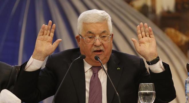 Mahmoud Abbas disse que os palestinos não aceitarão o plano de Trump