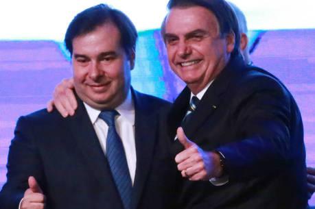 Maia direcionou o tweet a Bolsonaro