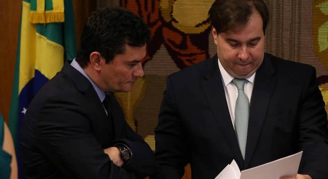 Presidente da Câmara dos Deputados atacou o Ministro da Justiça, Sérgio Moro
