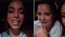Anitta leva Maiara à noitada após boatos de término com Fernando