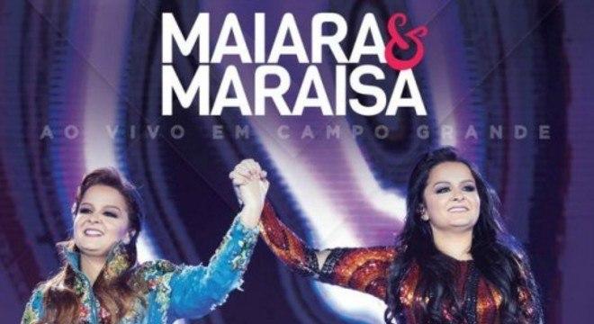 Maiara e Maraisa em capa de CD da Som Livre, gravadora da Globo
