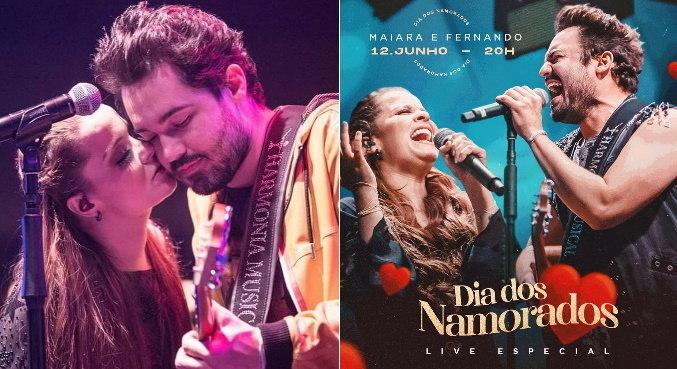 Casal Fernando Zor e Maiara vai levar romance para os fãs no Dia dos Namorados