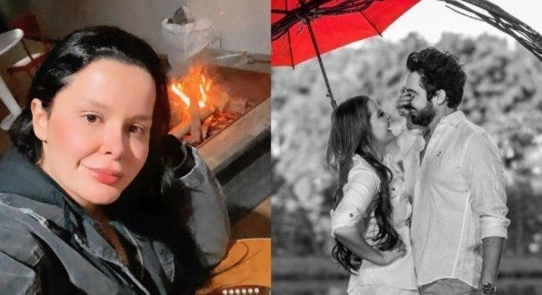 Casal não a convidou para gravar um vídeo pedindo uma música na live de Dia dos Namorados