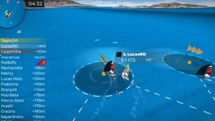 Maior evento náutico da América do Sul, a Semana Internacional de Vela de Ilhabela teve sua versão física cancelada em maio. A prova também ganhou uma versão virtual, que está sendo disputada nesta semana.