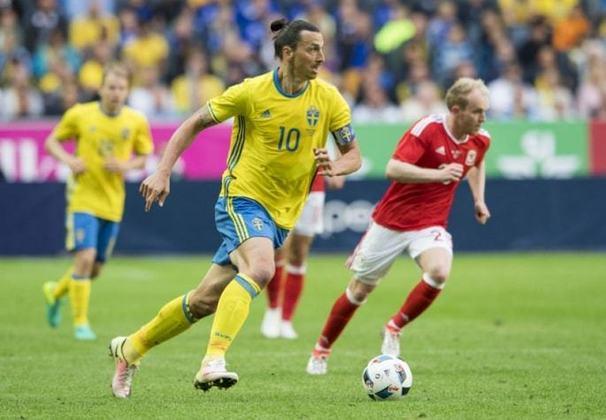 Maior goleador na história da Suêcia, Ibrahimovic viveu momentos mágicos pela seleção. Quando marcou duas vezes contra a Dinamarca e classificou seu país para a Eurocopa de 2016, isso foi o que ele pronunciou após o jogo: