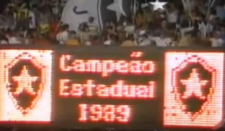 Maior jejum - O Botafogo é dono do maior jejum entre os quatro grandes times do Rio de Janeiro. Entre 1968 e 1989, o Glorioso ficou 21 anos sem soltar o grito de campeão. A conquista histórica, com gol de Maurício, veio após campanha invicta e título em cima do Flamengo de Telê Santana