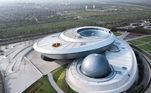 A China inaugurou, na última sexta-feira (16), o maior museu de astronomia do mundo, localizado na cidade de Xangai*Estagiário do R7 sob supervisão de Pablo Marques