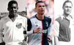 Cristiano Ronaldo conseguiu mais uma marca importante em sua carreira. O craque português marcou no último fim de semana dois gols na vitória da Juventus por 4 a 1 sobre o Spezia, pelo Campeonato Italiano. Com esses gols contabilizados, CR7 ultrapassou Romário na lista dos maiores artilheiros da história do futebol. Saiba quais são os goleadores