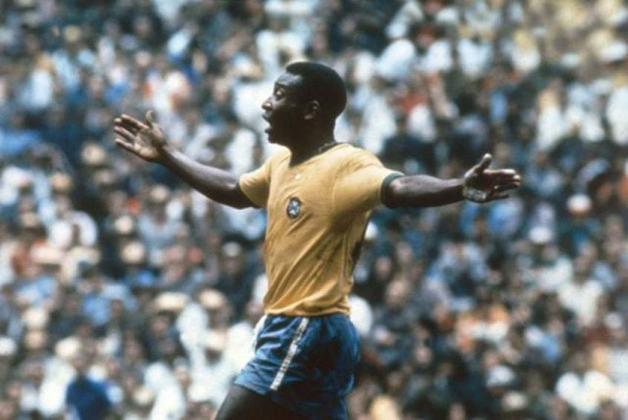 1ª colocação - Pelé- 77 gols