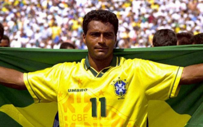 4ª colocação - Romário- 55 gols