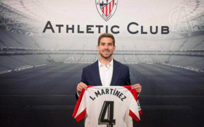 Athletic Bilbao: Iñigo Martínez – R$ 200 milhões - O experiente zagueiro chegou ao time basco para formar dupla com Uñai Nuñez, seguindo com um dos elencos mais fortes da primeira divisão espanhola
