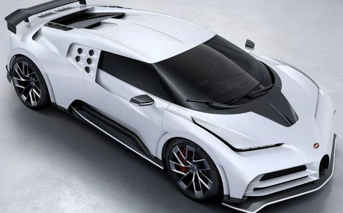 Mais um supercarro de CR7 é o Bugatti Centodieci, avaliado em R$ 54 milhões e restrito ao público, pois só existem dez modelos no mundo.
