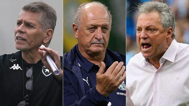 Mais um técnico foi demitido no Campeonato Brasileiro. Na manhã da última quinta-feira (8), o Vasco anunciou que Ramon Menezes não era mais o treinador da equipe. Com isso, ele se junta a uma lista de diversos técnicos brasileiros famosos que estão sem clube. Veja a lista dos nomes