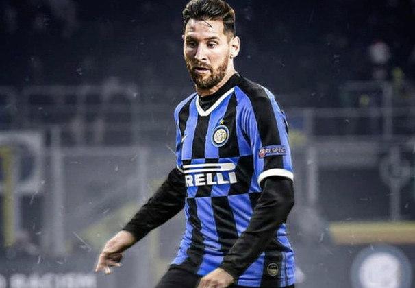 Mais uma de Lionel Messi na Inter de Milão