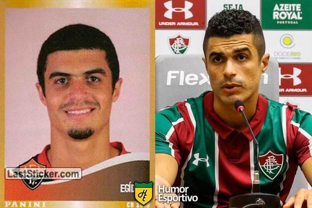 Mais uma dele! Egídio jogou pelo Vitória em 2010. Inicia o Brasileirão 2020 com 34 anos e jogando pelo Fluminense