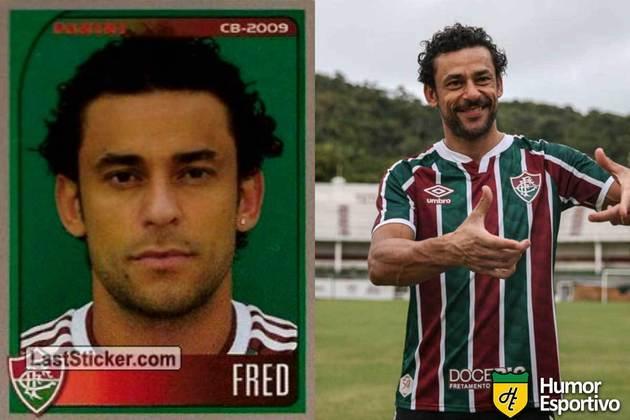 Mais uma dele! Fred jogou pelo Fluminense em 2009. Inicia o Brasileirão 2020 com 36 anos e jogando novamente pelo Fluminense