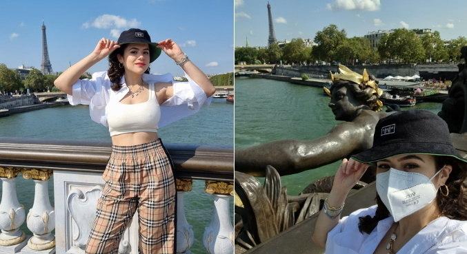 Maisa está em Paris, mas nem todos os passeios foram cheios de luxo