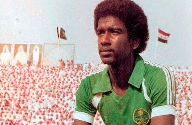 Majed Abdullah: 71 gols em 116 jogos pela seleção da Arábia Saudita.