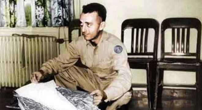 Jesse Marcel era oficial de inteligência da primeira tropa que investigou Roswell