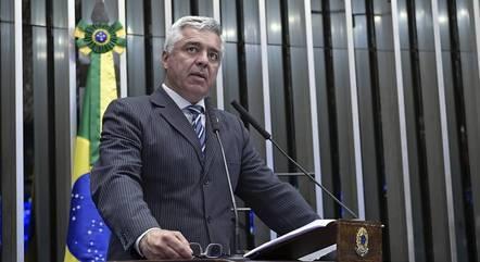 Na imagem, senador Major Olimpio (PSL-SP)
