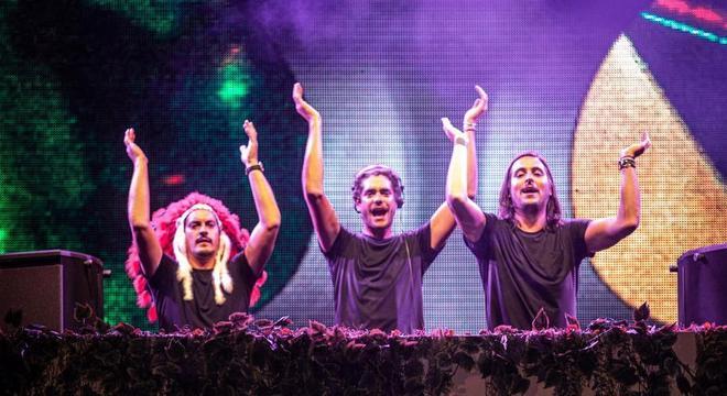 Trio acumula parcerias com grandes nomes da música brasileira