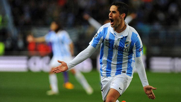 Málaga - Divisão atual: segunda divisão espanhola - Grandes nomes que atuaram no clube como: Júlio Baptista, Saviola, Amoroso, Santi Cazorla, Van Nilsterooy e Diego Lugano.