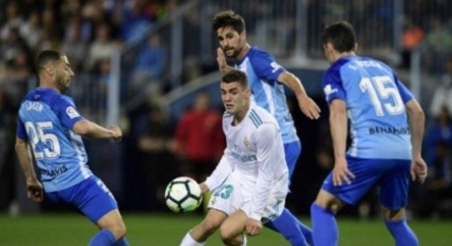 Málaga x Real Madrid
