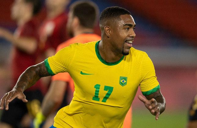 MALCOM (A, Zenit) - Fez parte do grupo por alguns dias mas, assim como Claudinho, retornou ao Zenit. Tem boa perspectiva de voltar a ser testado.