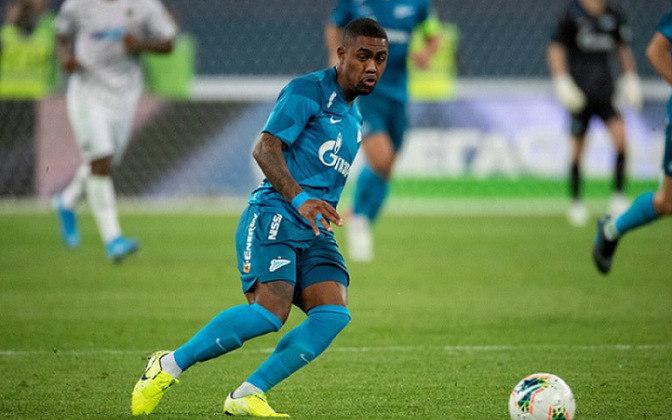 Malcom: o jogador que começou no Corinthians saiu do banco de reservas e sacramentou a vitória do Zenit contra o Akhmat Grozny, anotando o terceiro e último gol da equipe.