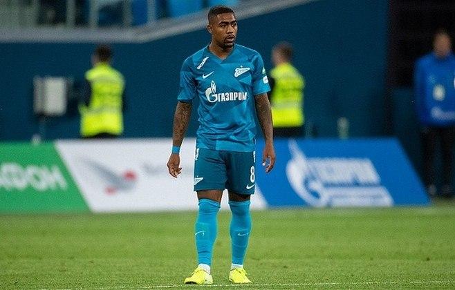 Malcom - Time: Zenit (Rússia) - Posição: Ponta-direita - Idade: 24 anos - Contrato até: 30/06/2024