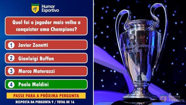 Maldini foi campeão com o Milan em 2007 tendo 38 anos e 331 dias de vida