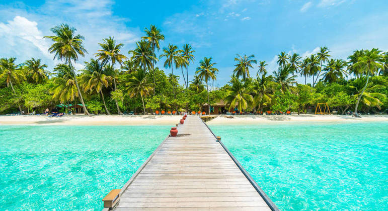 Ilhas Maldivas voltaram a receber turistas estrangeiros em julho de 2020