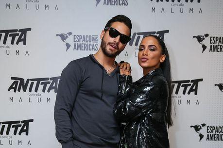 Maluma e Anitta já fizeram parceria musical