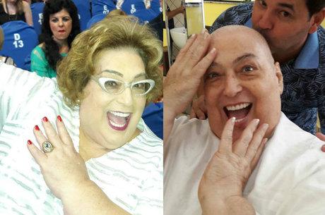 Com câncer, Mamma Bruschetta raspou o cabelo