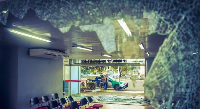 Vista da cidade de Manaus (AM) na manhã desta segunda (7) após os atentados praticados em represália pela morte de um traficante em confronto com a PM